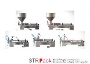 Puoliautomaattinen mäntä neste täyttö kone