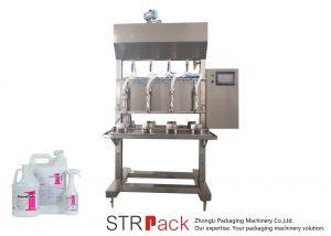 Puoliautomaattinen aikapainoinen nesteitäyttö