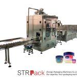 Vaseliinin nestemäyttöinen automaattinen vaseliinin täyttö- ja jäähdytyslinja